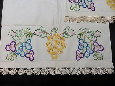 Vintage Crochet Embroidery Pillowcases Pillow Cover