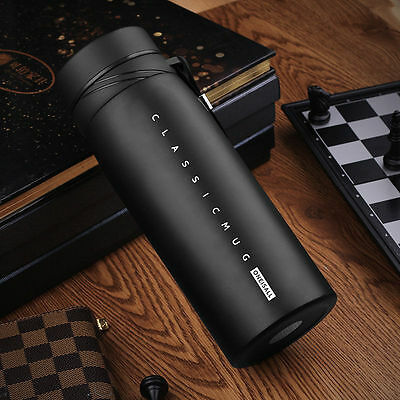 Tea Stainless Steel Vacuum Flask Water Bottle Thermos Coffee Travel Mug Cup 30oz