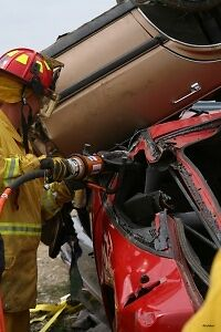 Vehicle Extrication Tools & Fire Training Firefighter DVD + Car Fires Video