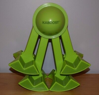 Genuine Kaboost Booster Chair Legs Device Green Adjustable Portable