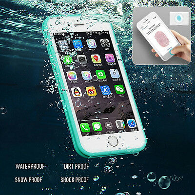 Waterproof  Shockproof Hybrid Rubber TPU Phone Case Cover For iPhone 6 6s Plus 7