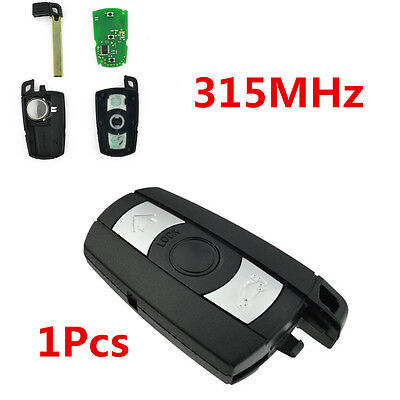 New Smart Remote Control Car Key Fob Replacement 315Mhz Fit BMW 1 3 5 6 7 Series