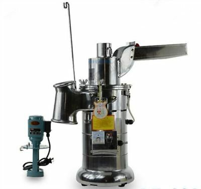 20Kg/H Automatic Continuous Hammer Mill Chinese Superfine Fiber Powder Machin tc