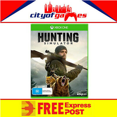 Hunting Simulator Xbox One Game New & Sealed Free Express In Stock Now