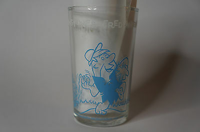 vintage Welch's Jelly Glass 1964 Hanna Barbara the flintstones fred and barney
