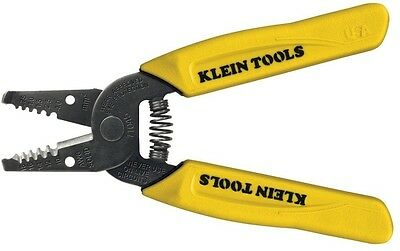 """6-1/4"""" Solid Wire Stripper Cutter Gauges Loops Holes Spring Loaded Comfort Grip"""