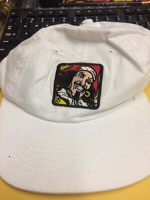 Captain Morgan Original Spiced Rum Adult Strap Adjustable White Embroidered Hat