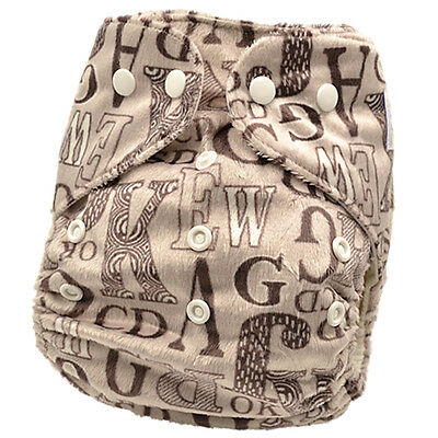 Baby Boy Modern Cloth Nappies Modern Cloth Nappy Diaper Covers Free Liner (M8)