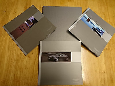 Aston Martin DB9 Coupe 3-Book Brochure Kit - Very Rare