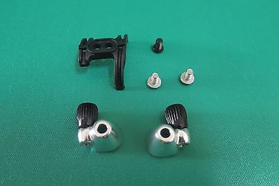 down tube cable stop and adjuster with Bottom Bracket cable guide