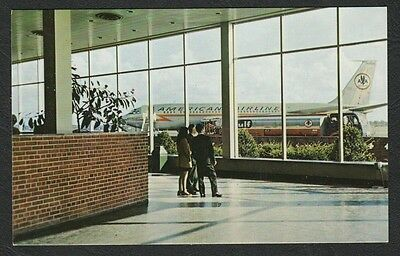 K2866)    Vintage Postcard Of The Monroe County Airport Rochester N.y.