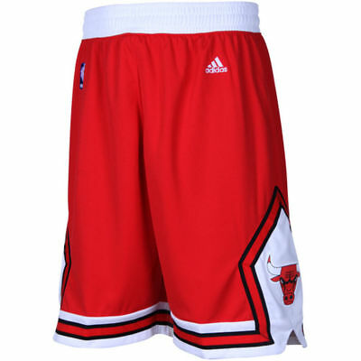 Youths Chicago Bulls Adidas NBA Replica Road Shorts - Red