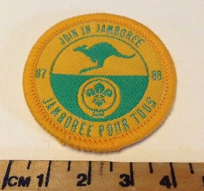 Join In Jamboree 1987/88 Scout Badge