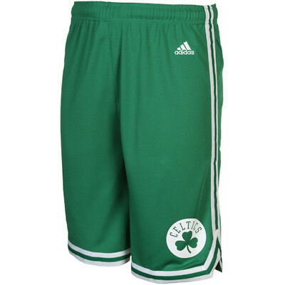 Youths Boston Celtics Adidas NBA Replica Road Shorts - Green