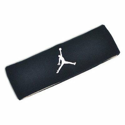 NIKE Jordan Jumpman Headband Basketball SweatBands, Black