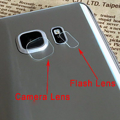 For Samsung Galaxy S8 S8 PLus Camera lens and flash film Tempered Glass for back