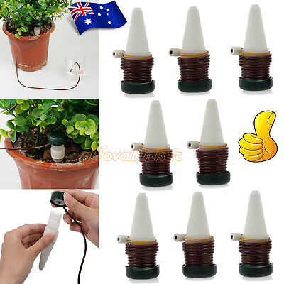 8pcs Self-Watering Probes Indoor Automatic Watering System House plant Spikes