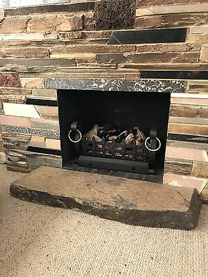 Fireplace Hearth, Natural Stone Fireplace Hearth Floor Slab Front Edge Stunning