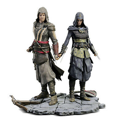 Official Assassin's Creed Movie Aguilar & Maria Statue Diorama FREE UK DELIVERY