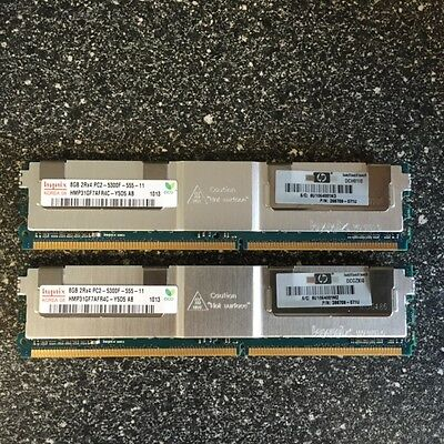 HP / HYNIX 16GB (2 x 8GB) KIT PC2 5300F SERVER MEMORY - 398709-071