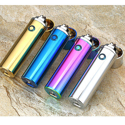 Double Pulse Arc Lighter Tobacco Pipe Windproof Cigarette cigar lighters usb