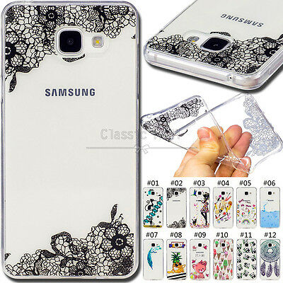 For Samsung Galaxy A5(2016) Silicone Protective Case TPU Back Soft Cover Skin