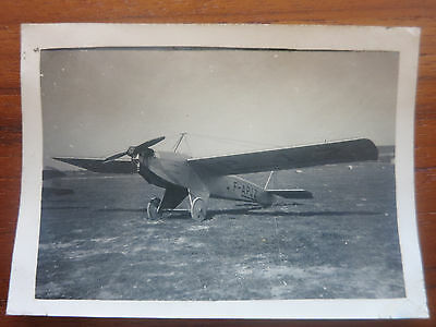 VC - Aviation, ancienne photo avion Farman moustique aerodrome de champagne