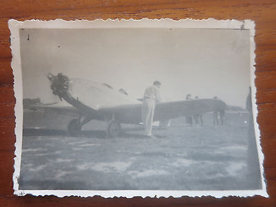 VC - Aviation, ancienne photo avion Farman 239 aerodrome de champagne