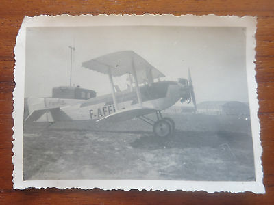 VC - Aviation, ancienne photo avion Caudron tourisme aerodrome de champagne