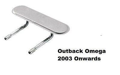 Outback Omega Replacement Burner 2003 Onwards Genuine Part 4440 BBQ Gas Inlet