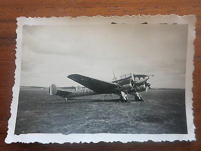 VC - Aviation, ancienne photo avion aerodrome de champagne