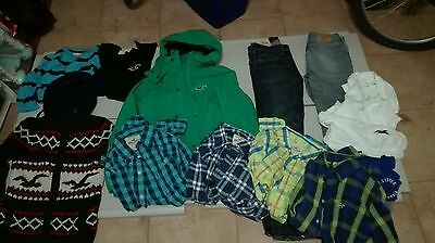 Lotto stock  hollister  tg M  13/14 anni