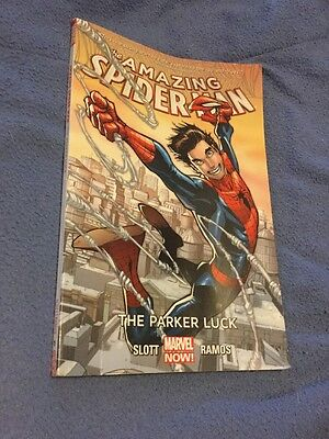 Amazing Spider-Man Graphic Novel: 'The Parker Luck' BRAND NEW
