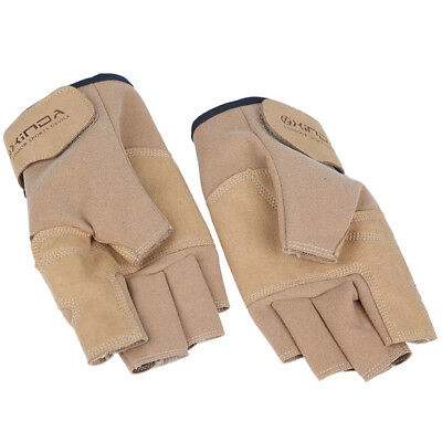 Outdoor Motorcycle Cycling Climbing Half Finger Fingerless Gloves Mittens