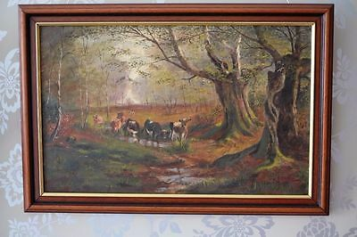 Antique Oil Painting on canvas