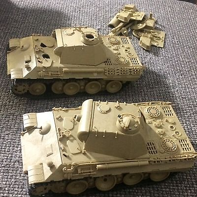German Panther Tanks X2