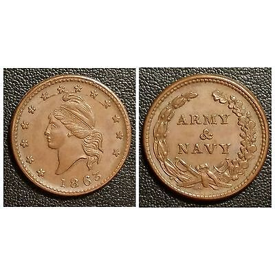 1863 Patriotic Civil War Token F-10/312a