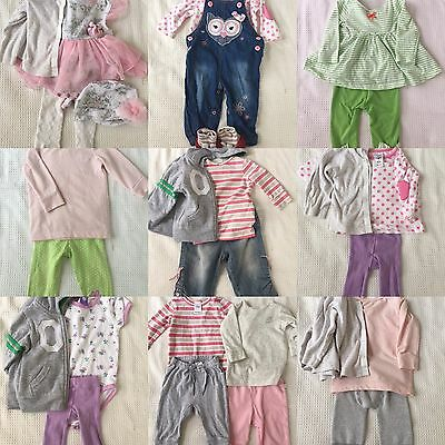 Baby Girl Clothes Size 00 - 3-6 Months Winter Bundle