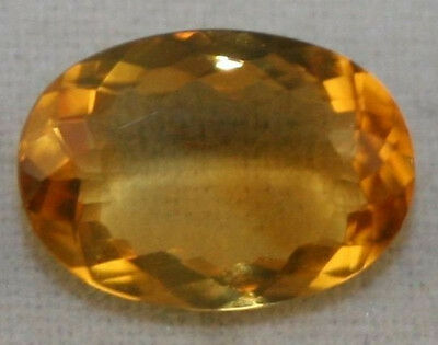 Natural Golden Citrine Loose Gem 7X10 Faceted Oval Cut 1.5Ct Gemstone Ci2