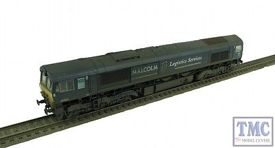 32-729 Bachmann OO/HO Class 66 66405 Malcolm Logistics Weathered (Pre Owned)