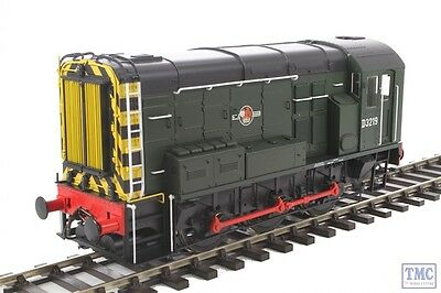 7D-008-003 Dapol O Scale #P# BR Class 08 D3219  Late Crest w/Wasp Stripes