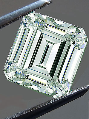 1.45 ct VVS1./WHITE ICE BLUE COLOR EMERALD MOISSANITE at Wholesale Low Prices!