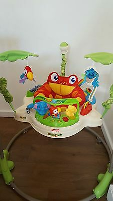 Fisher Price Rainforest Jumperoo Baby Bouncer Toy Activity Centre