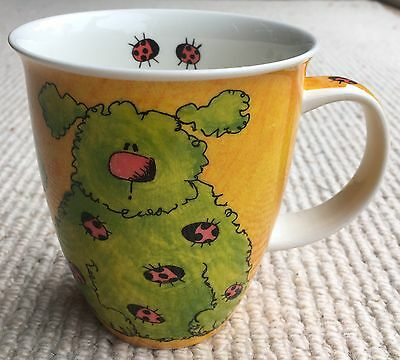 Dunoon Scruffs Mug by Sarah Mercer 11cms high.