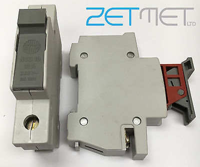 Wylex Nsc10 10 Amp 240V Fuse Cartridge Carrier Holder Bs 1361 *fuse Included*