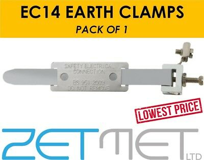 EC14 Earth Bonding Safety Electrical Connection Clamp Bonding Strap BS951