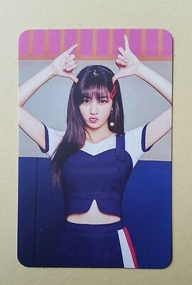 Twice SIGNAL 4th Mini Album Official Photocard - Jihyo