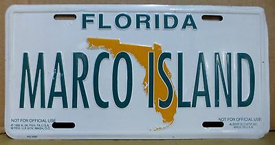 American Number Plate - Florida - Marco Island