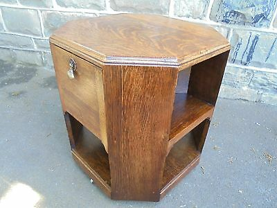 Oak Book Coffee Table In Manner Of Heals Of London