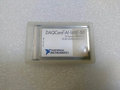 National Instruments DAQCard-AI-16XE-50 PCMCIA NI DAQ Card